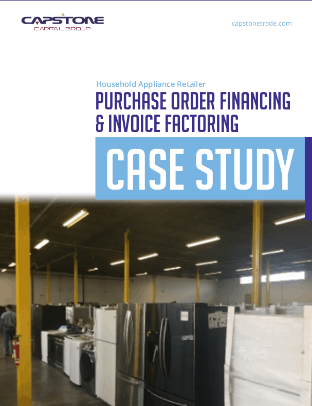 Purchase Order Factoring