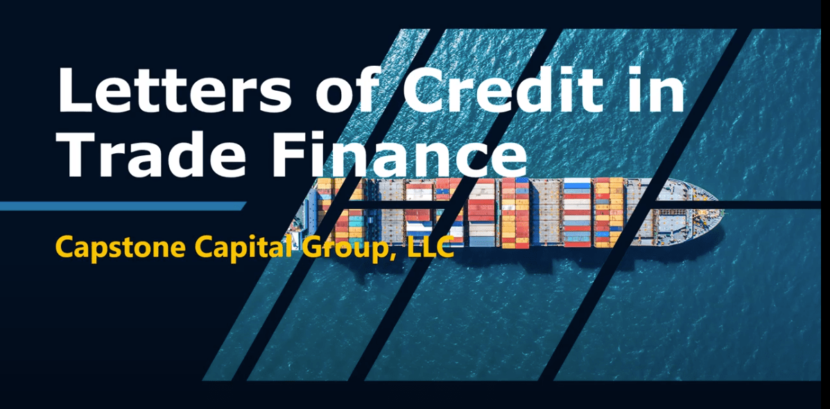 letters of credit in trade finance
